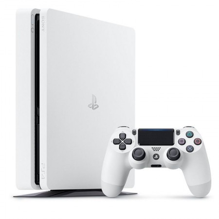 Playstation 4 Slim 1TB Branco  - foto principal 3