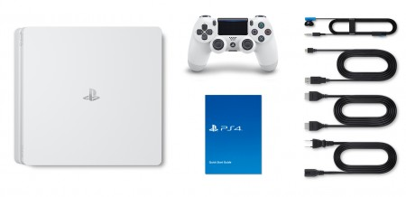 Playstation 4 Slim 1TB Branco  - foto principal 5
