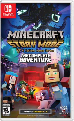 Minecraft: Story Mode  The Complete Adventure - Nintendo Switch  - foto principal 1