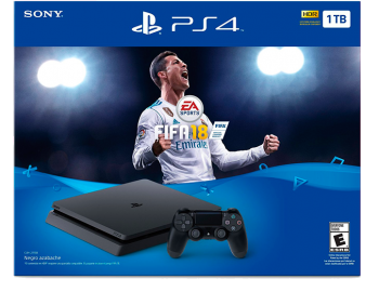 PlayStation 4 Slim HD 1 TB+ FIFA 18