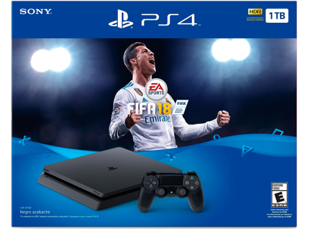 PlayStation 4 Slim HD 1 TB+ FIFA 18  - foto principal 1