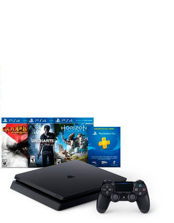 Playstation 4 Slim 500 GB+3 Jogos  - foto 7