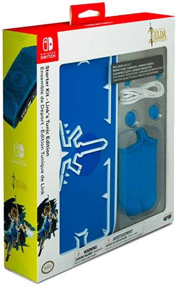 Nintendo Switch Starter Kit Link Tunic Edition