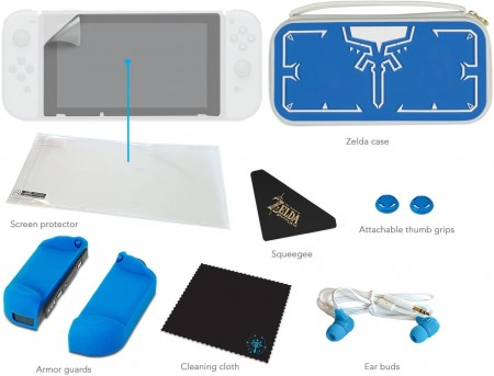 Nintendo Switch Starter Kit Link Tunic Edition  - foto principal 2