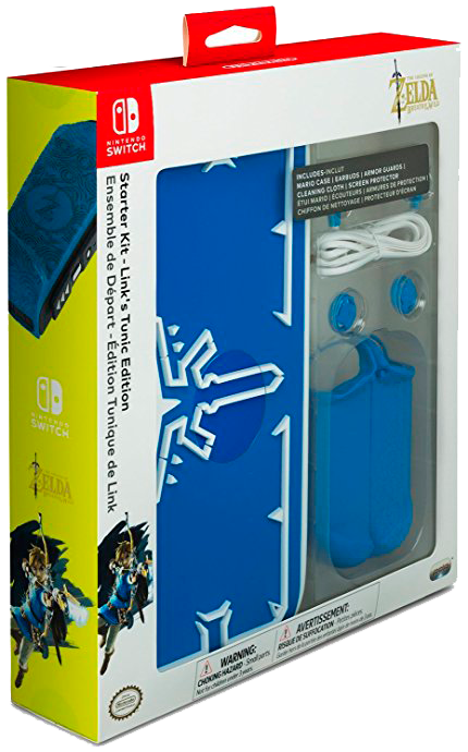 Nintendo Switch Starter Kit Link Tunic Edition  - foto principal 1