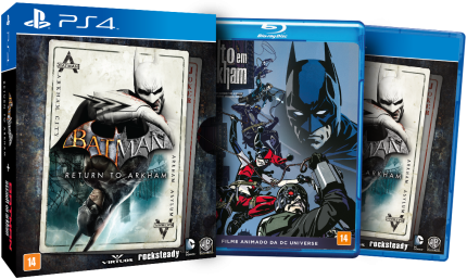 Batman Return to Arkham com vídeo Blu-Ray - PS4  - foto principal 2