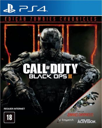 Call of Duty Black Ops III: Zombies Chronicles -PS4