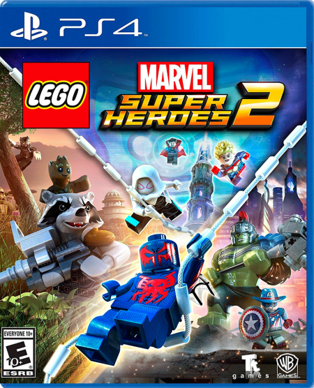 LEGO Marvel Super Heroes 2 - PS4  - foto principal 1