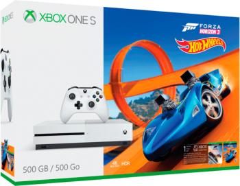 Xbox One S 4K 500 GB C/ Forza Horizon 3 e Hot Wheels