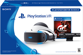 PlayStation VR + Camera + Gran Turismo Sport