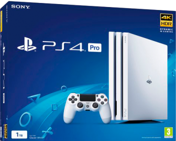 PlayStation 4 Pro 4K 1TB Branco Glacier