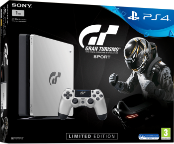 PlayStation 4 Slim HD 1TB Ediçao Limitada Gran Turismo