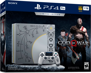 PlayStation 4 Pro 4K 1TB Edição Limitada God of War