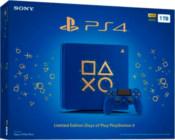 Playstation 4 Slim  HD 1TB Edição Days of Play