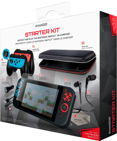 Starter Kit for Nintendo Switch DreamGear  - foto principal 1