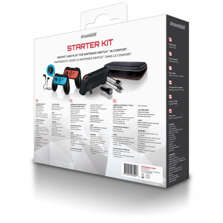 Starter Kit for Nintendo Switch DreamGear  - foto principal 2
