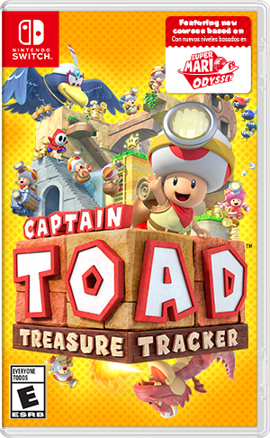 Captain Toad: Treasure Tracker - Switch  - foto principal 1
