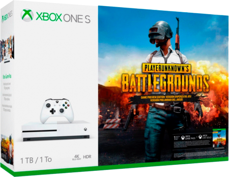 Xbox One S 4K 1TB Bundle Battlegrounds  - foto principal 1