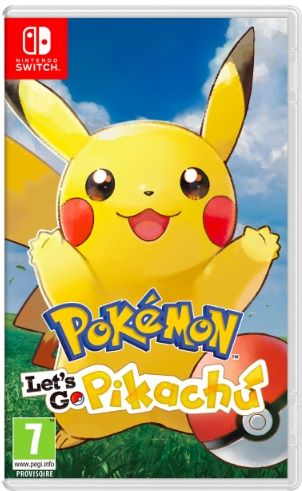 Pokemon let's go - Switch