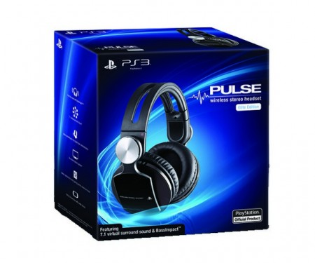 HeadSet Sony Pulse Elite 7.1 Wireless PS4/PS3  - foto principal 1