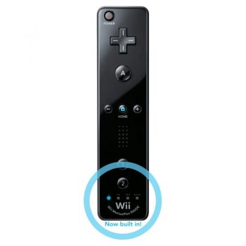Remote Plus Black Wii / Wii U  - foto 3