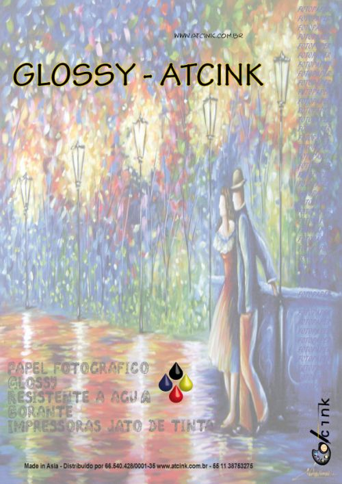 Papel fotografico 135/140 GR A4 glossy