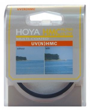 Filtro UV (C) Hoya HMC (Hoya Multi-Coated) 49mm