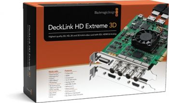 Placa De Captura Blackmagic Design Decklink Hd Extreme 3D + (BDLKHDEXTR3DPLUS)