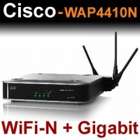 Accesspoint Cisco / Linksys Wireless-n Wap4410n + Gigabit !  Com PoE/Advanced Security!!!