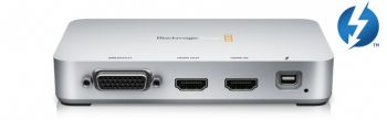 Placa De Captura Blackmagic Intensity Extreme - Externa com Thunderbolt!   Para MAC