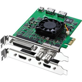 Blackmagic Decklink Studio 2 Sd/hd Broadcast Vídeo PCI Express, Sdi, Hdmi + Conexões analógicas  (Para MAC / PC / LINUX)
