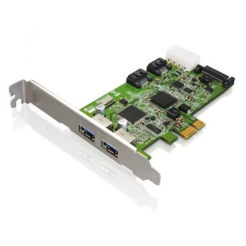 Placa de expansão Transcend Usa 4-Port Pci Express Usb/Serial Ata Combo Adapter TSPDC3