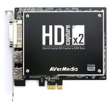 Placa De Captura Avermedia Darkcrystal Hd Sdk Duo Streaming