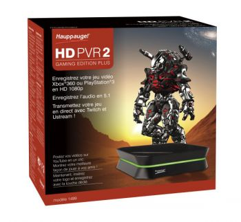 Placa de Captura Hauppauge HD PVR2 Gaming Edition PLUS (Mod.: 1504) - PC e MAC