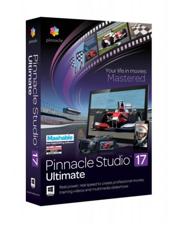 Pinnacle Studio 17 Ultimate ORIGINAL PINNACLE