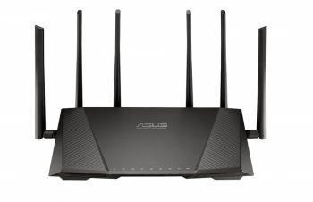 Roteador Asus RT-AC3200 Tri-Band Wireless Gigabit - LANÇAMENTO