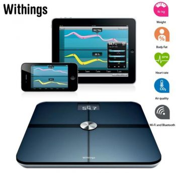 Balança e Monitor de Mapeamento Corporal Withings WS-50