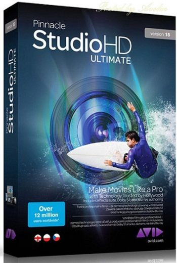 Pinnacle Studio Ultimate Hd Versão 15 Full Original!