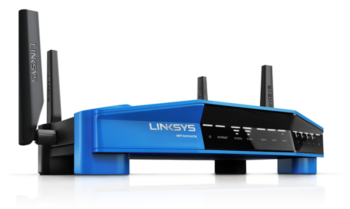 Roteador Linksys WRT3200ACM AC3200 Open Source Tri Stream  - foto principal 1