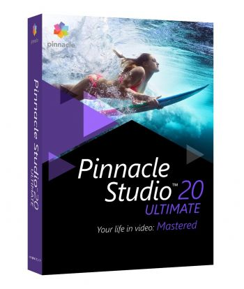Pinnacle Studio 20 Ultimate ORIGINAL PINNACLE