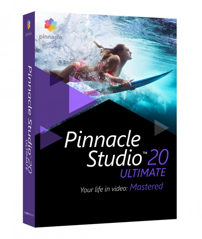 Pinnacle Studio 20 Ultimate ORIGINAL PINNACLE  - foto principal 1