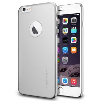Capa iPhone 6 / 6S SPIGEN Thin Fit A SGP10888 ORIGINAL - PRATA (Satin Silver)