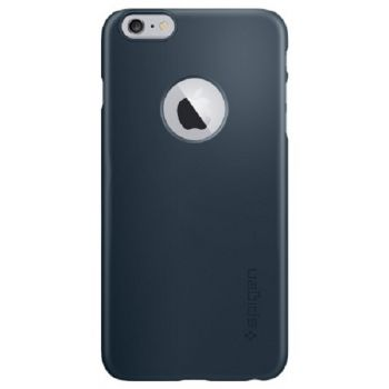 Capa iPhone 6 / 6S SPIGEN Thin Fit A SGP10887 ORIGINAL - AZUL ESCURO (Metal Slate)