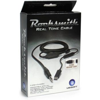 Rocksmith Real Cable Cabo Original Ps4, Ps3, 360, One e PC - Ubisoft ORIGINAL