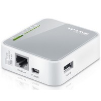 Roteador Portátil TP-Link Wireless N 3G/4G Tl-mr3020