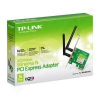 Adaptador PCI Express Wireless N de 300 Mbps TL-WN 881ND