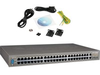 JetStream 48 portas 10/100Mbps + 4-Port Gigabit Switch Gerenciável L2 TL-SL3452