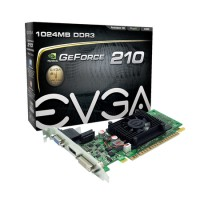 Placa De Vídeo Vga Nvidia Evga Geforce Gt210 1gb Low Profile