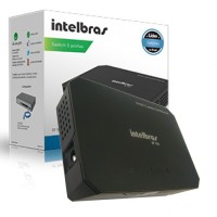 Switch de 5 portas SF500 Fast Ethernet Intelbras