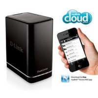 D-Link ShareCenter 2-Bay Cloud Network Storage Enclosure DNS-320L